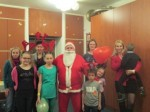 Santa and the Kids in Komló